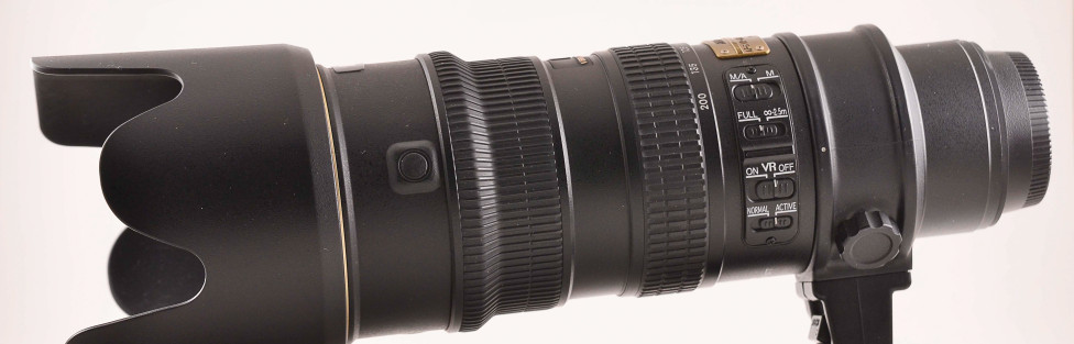 Why I went with the Nikon 70-200mm f2.8 VR1?